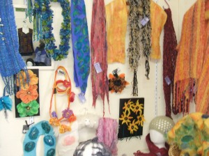 Pauline's felted products