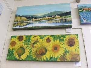 Marion's paintings