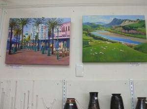 Pat's paintings