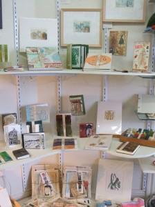 Julz's handmade books - handprints